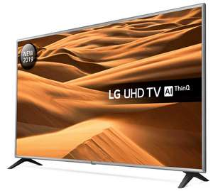 """LG 75UM7000PLA 75"""" Smart 4K Ultra HD HDR LED TV, 6 year warranty £829 with code @ RicherSounds"""