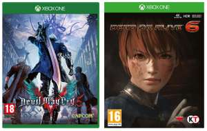 Devil May Cry 5 / Dead or Alive 6 (Xbox One) - £10 each @ Smyths (in-store)