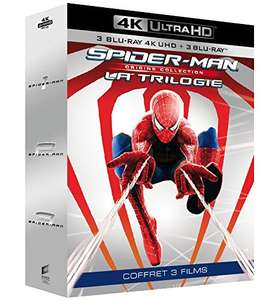 Spider-Man Trilogy 4K Ultra HD + Blu-ray £20.21 delivered @ Amazon France