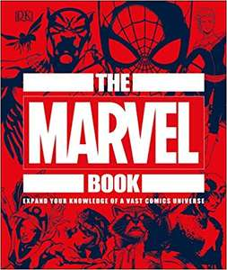 The Marvel Book: Expand Your Knowledge Of A Vast Comics Universe £8.99 @ Amazon (£1.99 non Prime)
