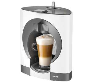 KRUPS Dolce Gusto Oblo KP110140 Coffee Machine - White + 2yr guarantee + Free Delivery / C&C at Currys £28