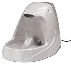 PetSafe Drinkwell Platinum Pet Fountain - Automatic Drinking Fountain for Cats and Dogs, Filtered Water, 5 Litre £23.99 @ Amazon