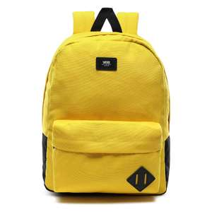 Vans Old Skool III Backpack Casual Daypack 42 Centimeters 22 Yellow (Sulphur) at Amazon £9.34 Prime (£3.49 non Prime)