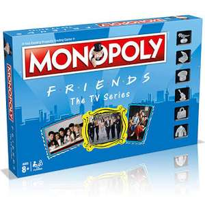 Friends Monopoly Board Game £13.49 With Code @ Robert Dyas (Free C&C)