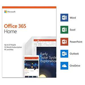 Microsoft Office 365 Home 1yr 6 user - £49.99 delivered @ Amazon