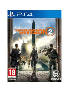 Tom Clancy's The Division 2, PS4 and Xbox for £7.99 + £2 Click and Collect John Lewis