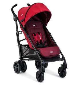 Joie Brisk Cherry Stroller with 800 Boots points - £80 delivered