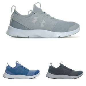 Up to 70% Off Get the Label, Mens Under Armour UA Drift Mineral Running Shoes Trainers, Grey & Blue £24.99 Delivered @ G.L.T outlet Ebay