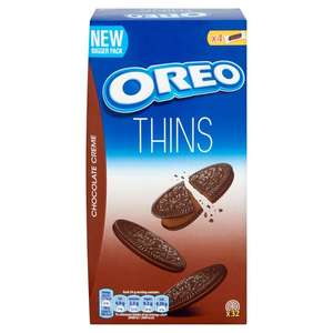 2 x 192g Boxes, Oreo Thins Chocolate Biscuit. Just £1, Heron Foods Abbey Hulton