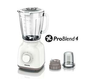 Philips HR2106/01 Daily Collection Glass Jug Blender/Chopper, 400 W - White £18.98 delivered at Philips with code
