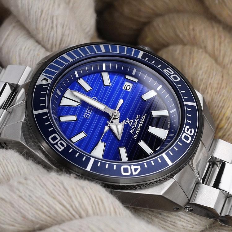 Seiko Samurai Special Edition Save The Ocean STPC93K1 Watch £299 @ Simpkins Jewellers