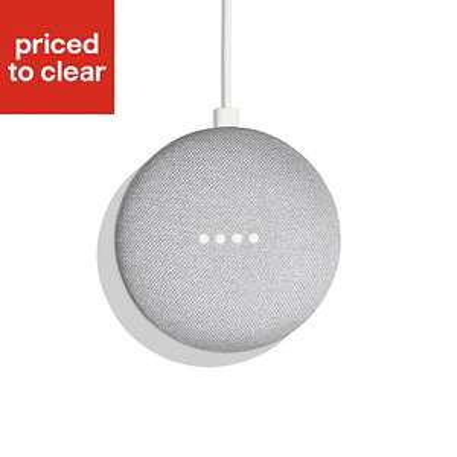 Google Home Mini Chalk £19 + free Click and Collect @ B&Q