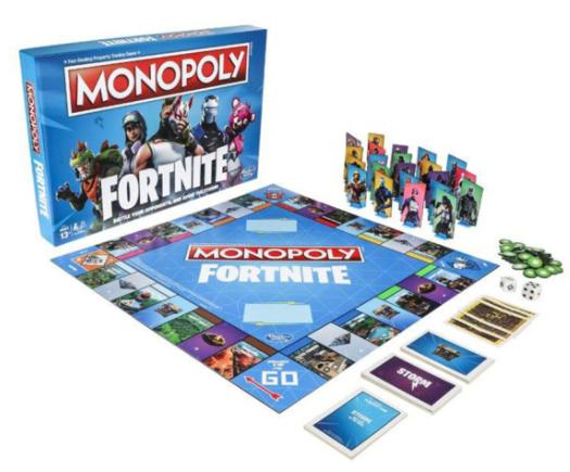 Monopoly Fortnite edition £14.99 @ Robert Dyas