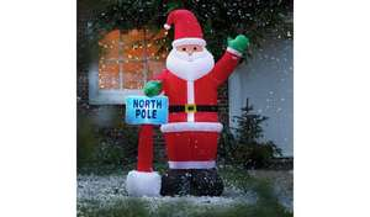 Argos Home Inflatable Santa £10