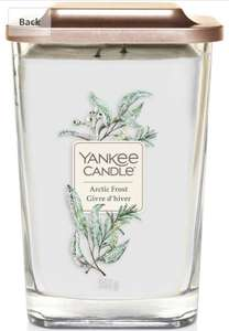 Yankee Candle Elevation Collection Large 2-Wick Square Scented Candle with Platform Lid, Arctic Frost £11.99 @ Amazon (+£4.49 Non-prime)