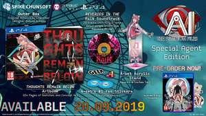 Ai: The Somnium Files Special Agent Edition (PS4) £46.80 @ Amazon