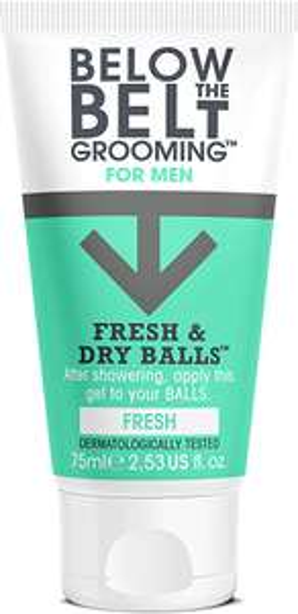 Below the Belt Grooming For Men Fresh & Dry Balls Fresh 75ml £2.97 + £1.50 C&C @ Boots