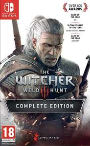 The Witcher 3: Wild Hunt – Complete Edition (switch) £30.21 @ Nintendo eshop Sweden