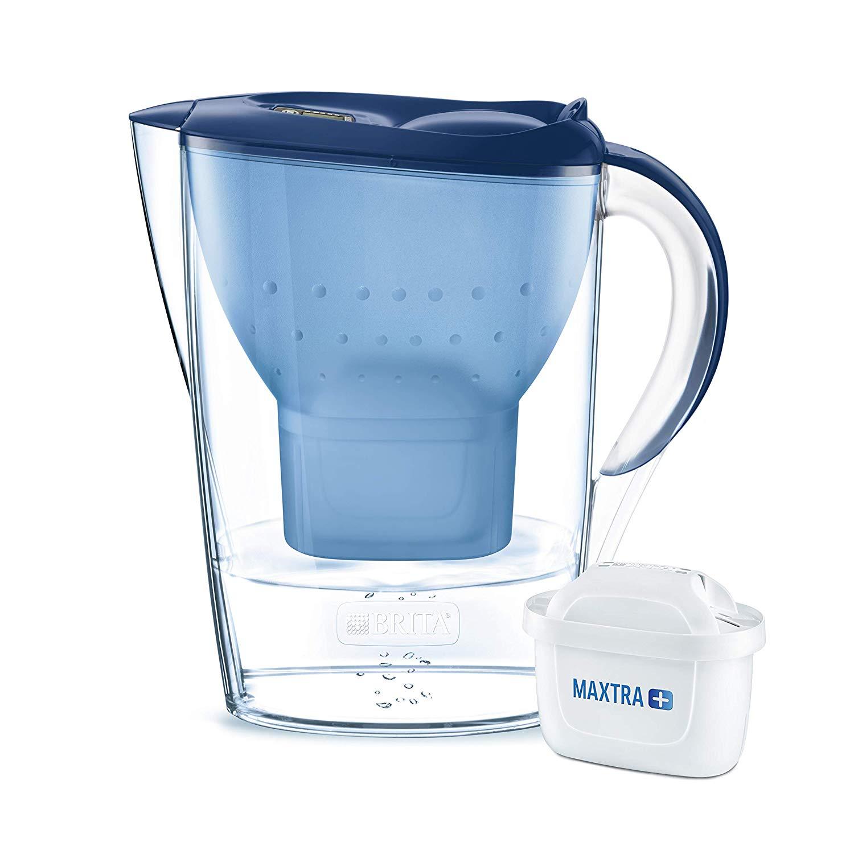 BRITA Marella Water Filter Jug Maxtra+ with one cartridge, Cool Blue - £10.66 at Amazon (+£4.49 non prime)