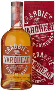 Crabbies Yardhead Single Malt Whisky £16 (+£4.49 Non Prime) @ Amazon