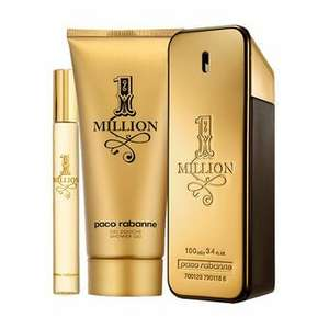 Paco Rabanne 1 Million Eau de Toilette 100ml Gift Set £54.40 inc delivery @ Feel Unique (£48.96 via Beauty Circle signup)