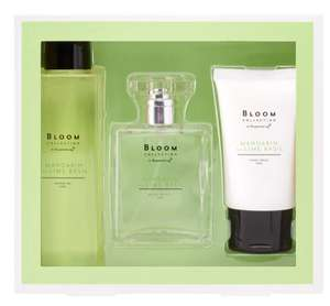 Superdrug Bloom Mandarin and lime basil set is £3.99 - Free order and collect