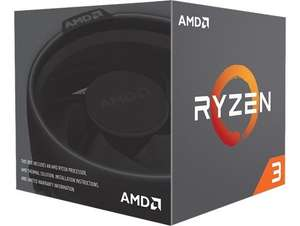 AMD Ryzen 3 1200 3.1GHz 4 Core (Socket AM4) CPU £44.72 delivered @ CCL Direct