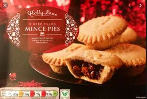 Aldi Deep FilledMince Pies - Box of 6 for 29p @ Risca Store