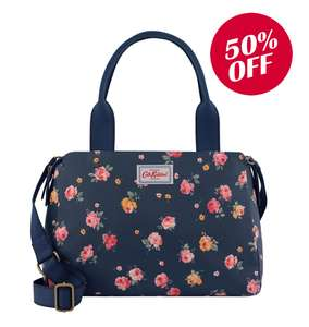 Up to 50% off instore and online at Cath Kidston E.g Winbourne Rose multi pocket bag now £30 Free C&C p&p £3.95 or Free with £40 spend