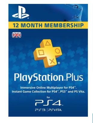 PlayStation Plus 12 month UK £37.99 @ CDKeys