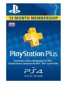 PlayStation plus uk subscription 12 months £36.99 @ Instant gaming
