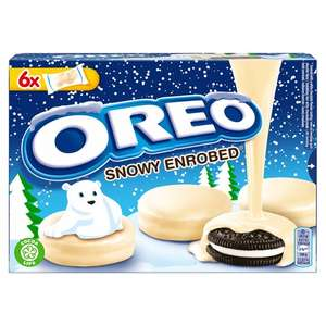 Oreo Biscuits White Chocolate Covered 246g - 64p @ Tesco