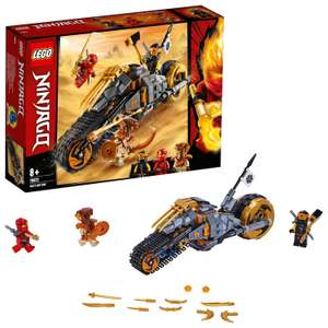 LEGO 70672 NINJAGO Cole's Dirt Bike Ninja Motorbike with Caterpillar Tracks and 3 Minifigures £12 (Prime) £16.49 (Non-Prime) @ Amazon