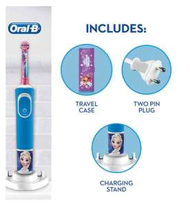 Oral B Kids Frozen Electric Toothbrush Giftset £17.50 @ Boots