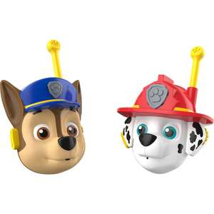 PAW PATROL S17995 KD Toys 3D Character Walkie Talkies, Blue. Red £7.79 (Prime) £12.28 (Non-Prime) @ Amazon