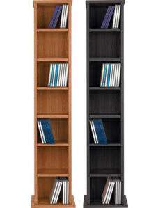 Argos Home Maine CD and DVD Media Storage - Oak / Black Ash £9.50 @ Argos