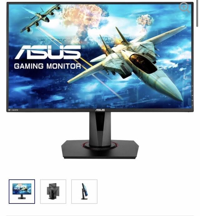 ASUS 27'' VG278QR £259.99 @ Microsoft