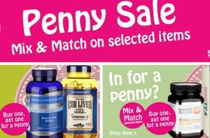 Holland & Barrett Penny Sale is back: Buy any qualifying product and get 2nd product for 1p
