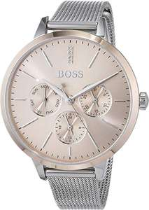 Hugo Boss Unisex-Adult Multi dial Quartz Watch with Stainless Steel Strap £89.50 @ Amazon