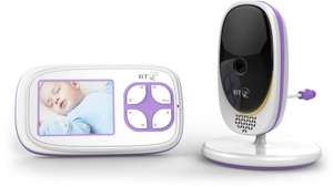 BT Video Baby Monitor 3000 £59.99 for BT Customers - BT Store +£3.99 delivery