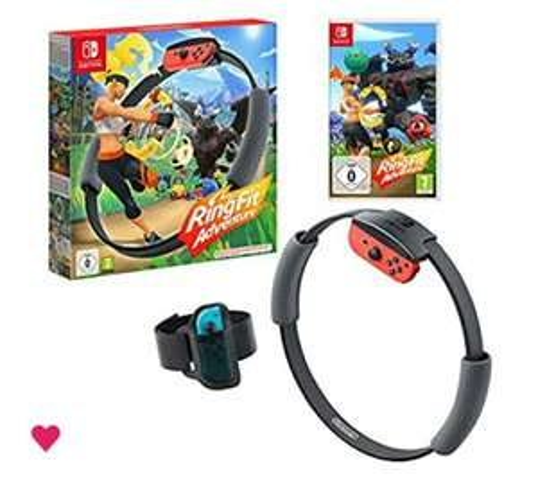 Ring Fit Adventure - Nintendo Switch - £64.99 @ Amazon UK