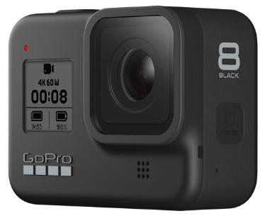 Get £100 Off HERO8 Black or £50 Off HERO7 Black when trading in any GoPro or digital camera £279.99 @ GoPro Shop
