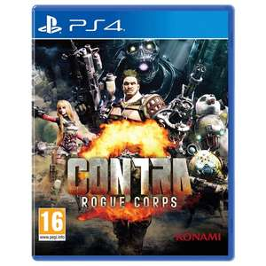 Contra: Rogue Corps PS4 C+C £10@Smyths