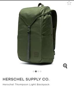 Herschel Thompson Light Backpack £26.45 down from £65 @ surfdome