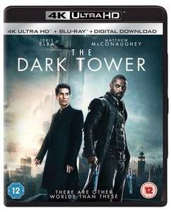 The Dark Tower 4k UHD £8.69 new delivered @Music magpie