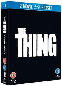 The thing 2 movie boxset blu ray £6.50 delivered @ Zoom 4.8%tcb