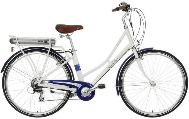Pendleton Somerby Electric Hybrid Bike - White & Navy £595 @ Halfords