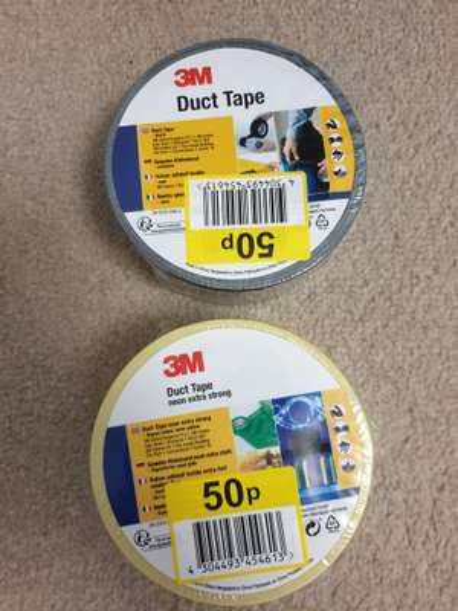 3M duct tape down 50p @ Lidl (Dewsbury)