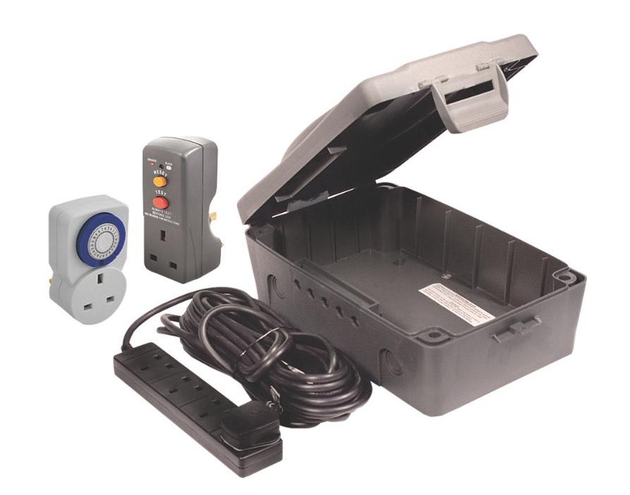Masterplug Weatherproof Box Kit £19.99 @ Screwfix C&C