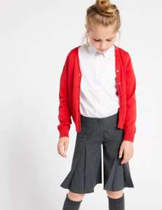 Girls' School Culottes from £4 (free click and collect) @ Marks and Spencer